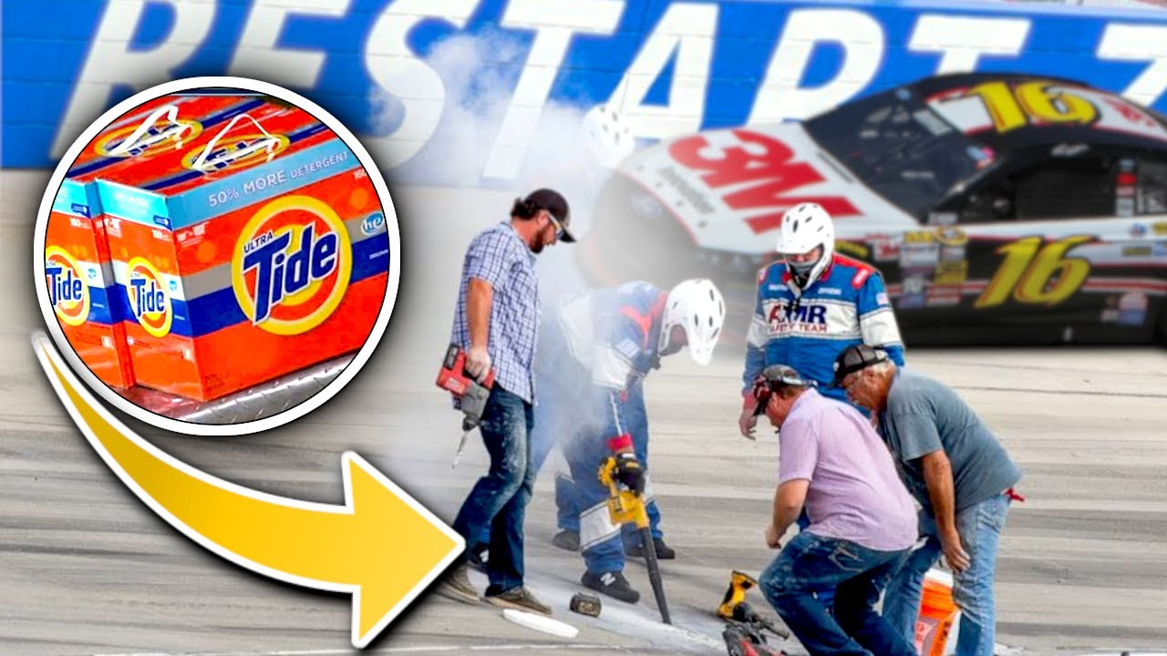 """NASCAR """"The Track is Broken"""" Moments (Rare)"""