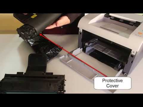 How to Replace Toner Cartridge ML2010 For Samsung and Dell Printers