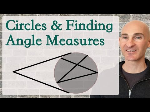 Circles, Angle Measures, Inscribed Angles, Intersecting Chords, Secants & Tangents