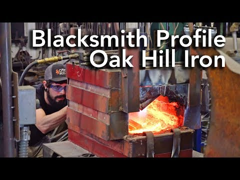 Blacksmith Profile - Oak Hill Iron - David Billings Interview