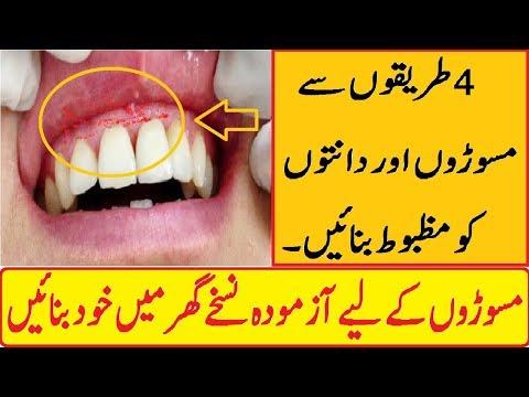 Keep Healthy Your Teeth and Gums Tips in Urdu