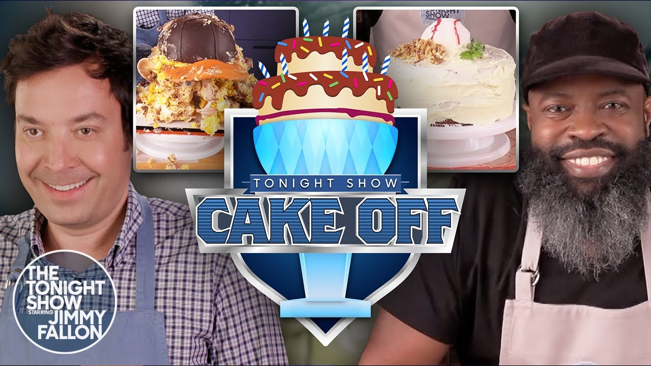 Tonight Show Cake Off: Baseball Edition | The Tonight Show Starring Jimmy Fallon