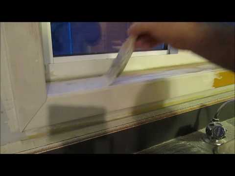 How to PAINT Naughty (Knotty) Pine Trim WHITE
