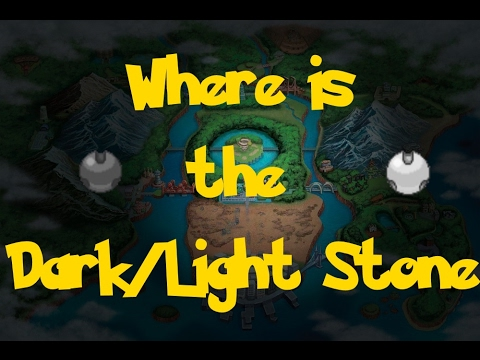 Where Is: The Dark/Light Stone (Pokemon Black 2/White 2)