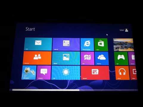 Microsoft Surface Windows 8 Pro Norwegian - Final Video Tutorial