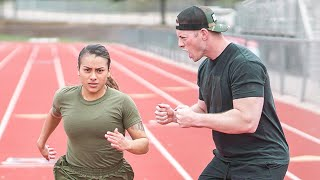 US Marine Takes on the US Navy Physical Readiness Test
