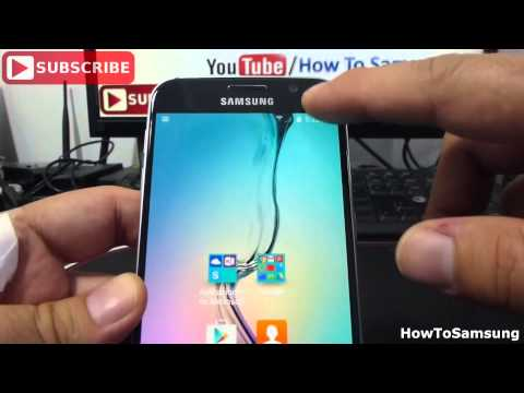 How to Show battery percentage on your Samsung Galaxy S6 Basic Tutorials