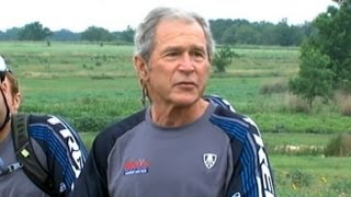 Former President George W Bush Recovering After Heart Surgery