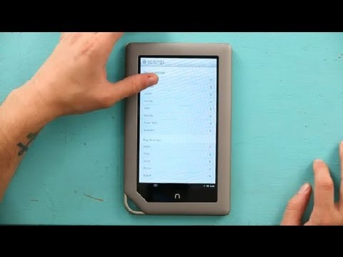 How to Enable Auto Update on a NOOK Color : NOOK & NOOK Colors