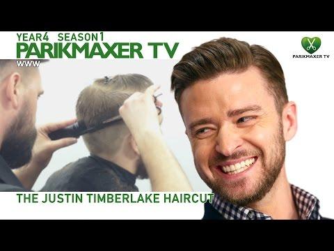 Стрижка Джастина Тимберлейка. Justin Timberlake haircut парикмахер тв parikmaxer.tv hairdresser tv