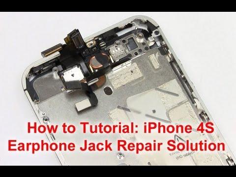 iPhone 4S Headphone Jack Repair Directions
