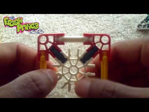 Custom iPhone/iPod Dock/Stand: Made Out of K'Nex
