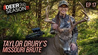 Taylor Drury's Big 8, Making Decisions On When To Track   Deer Season 21