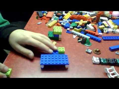 how to make lego furniture