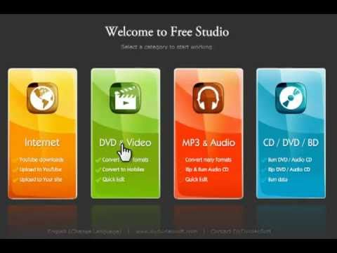 Free DVD & CD Ripper/Burner (DVDVideoSoft Free Studio)