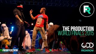 The Production | FRONTROW | World of Dance Finals 2015 | #WODFINALS15