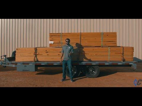 Diamond C 13DEC Deck Over Equipment Trailer