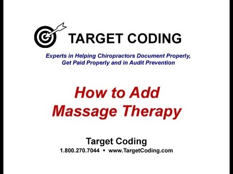 Target Coding Chiropractic Massage Therapy