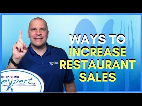 Restaurant Management Tip - Ways to Increase Restaurant Sales #restaurantsystems
