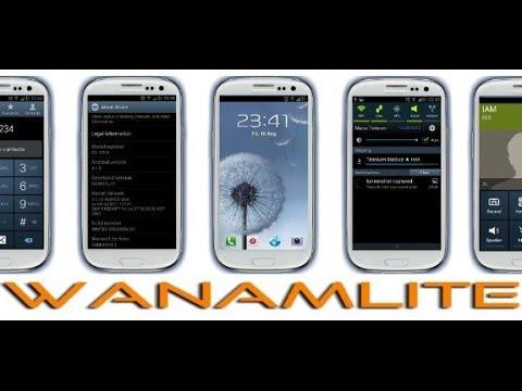 Wanamlite ROM v7.2 Android 4.3 Galaxy S3