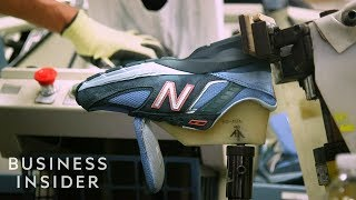 How New Balance Sneakers Are Made | The Making Of