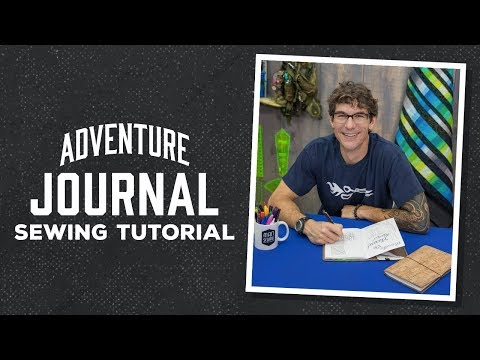 Create a Cork Adventure Journal with Rob!