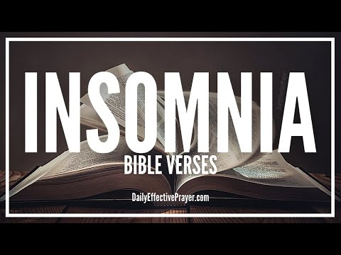 Bible Verses On Insomnia - Scriptures For Insomnia (Audio Bible)