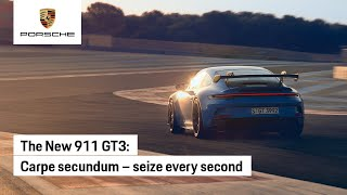The new 911 GT3: Time is Precious