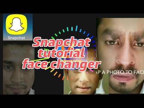 Snapchat tutorial | Face Changer | Funny selfie