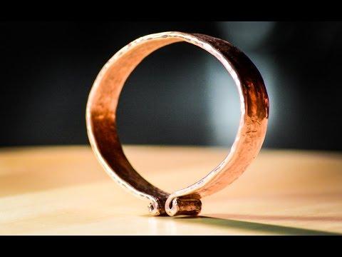 Simple Copper Bangle & Oak Beatin' Log - Day 13/30