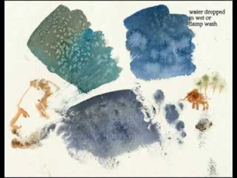 Quick Watercolor Textures