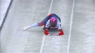 Elena Nikitina misses her sled