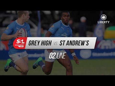 Grey High 1st XV vs St Andrew's College 1st XV, 02 June 2018