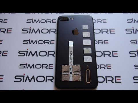 Use 5 SIM cards in the iPhone 7 Plus - World's first Five SIM conversion with SIMore WX-Five 7 Plus