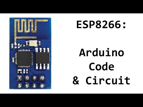 ESP8266 Arduino Code and Circuit/Schematic for Sending Commands