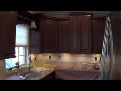 NDA Kitchens backsplash installation in Nesconset