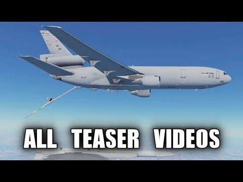 Infinite Flight - ALL MD11, KC10, DC10 Teaser Videos