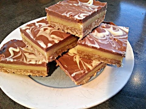 How to make the Simplest and BEST Caramel Slice