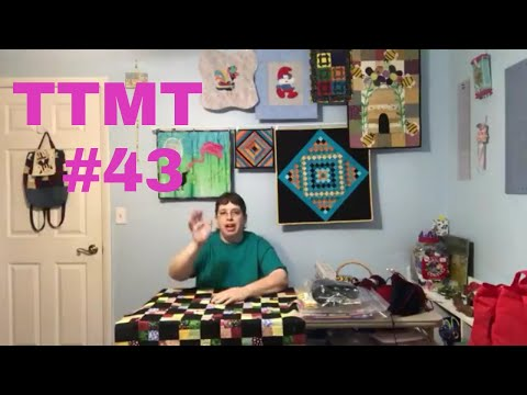 TTMT #43  Knitting & Gnome Villages