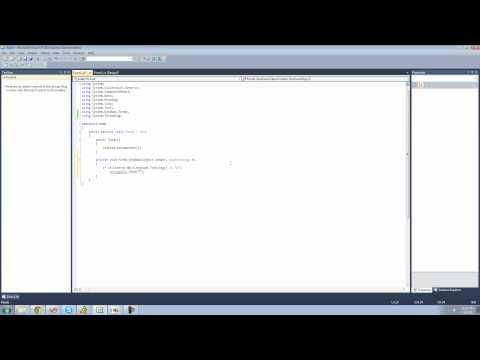 C# Beginners Tutorial - 146 - Making Keyboard Shortcuts