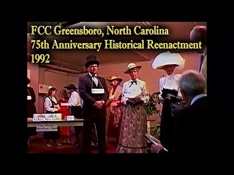 FCC Greenboro 75th Anniversary Historical Play