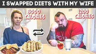 Strongman swaps diet with wife for a day   Ft Eddie Hall