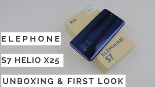 Elephone S7 Unboxing & Quick Look Review | Sharmaji Technical