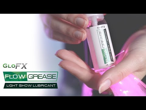 GloFX Flow Grease Tutorial | Fiber Optic Flow Toy Lubricant | How to Apply