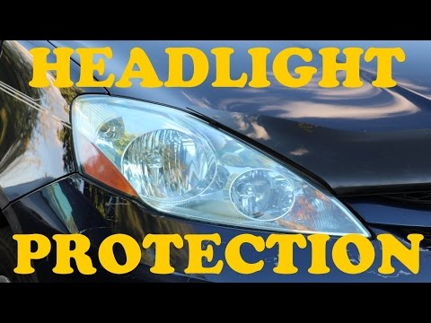How to Restore and Permanently Protect Your Headlights