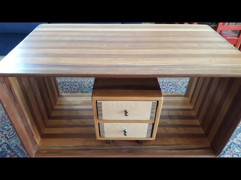 Making a Desk with 2 Drawers and 1488 Fingers
