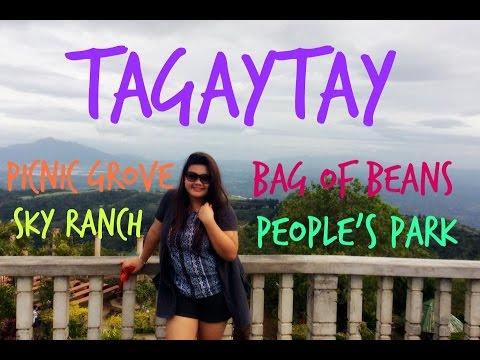 VLOG #21: BIRTHDAY IN TAGAYTAY (PICNIC GROVE,PEOPLE'S PARK,BAG OF BEANS, SKYRANCH) | MISS DANE MATRO