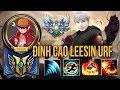Được Fan Nhường Cho Leesin Trong URF Gầy Quẩy Nát Team Bạn | Gầy Best Leesin
