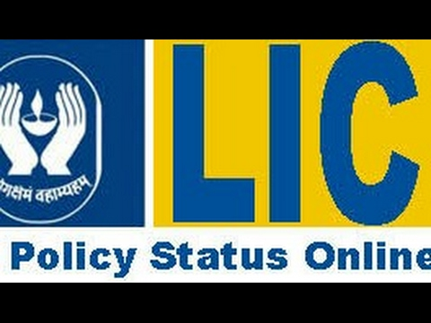 How to check lic's policy status......