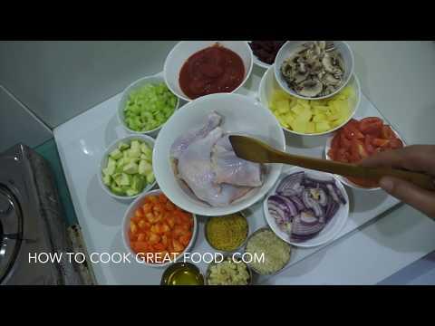 ★★ Italian Chicken Soup Recipe - Hearty Chicken - Stew